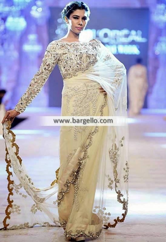 Indian Pakistani Saree Designs Canberra Australia Ammara Khan Saree Collection PFDC 2014