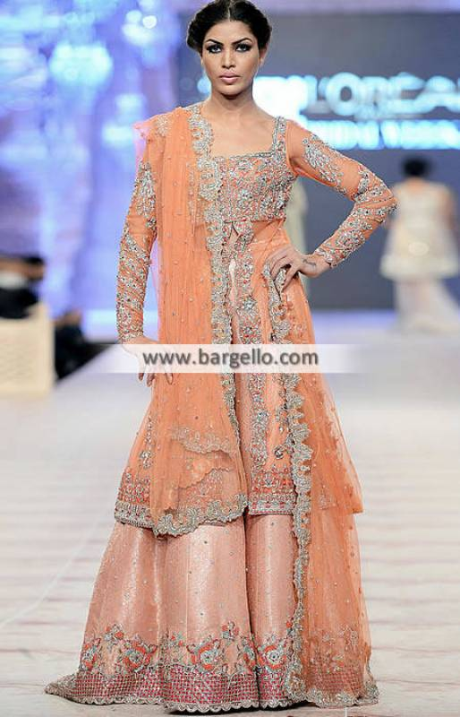 Pakistani Wedding Dresses Paris France Ammara Khan Wedding Dresses Collection PFDC