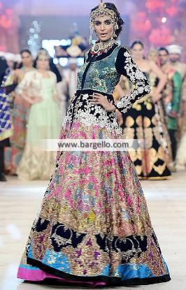 Ali Xeeshan Bridal Gown Bridal Lehenga Collection PFDC 2014 Bridal Dresses