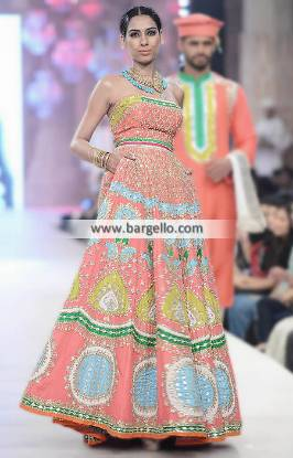 Ali Xeeshan Gown Dresses Formal and Special Occasions PFDC Bridal Collection 2014