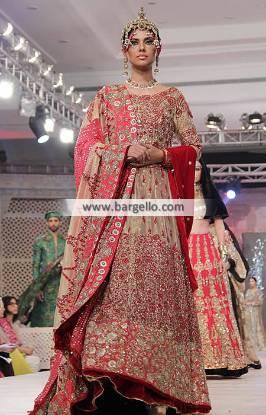 Ali Xeeshan Bridal Dresses Bridal Anarkali Collection PFDC Bridal Collection