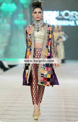 Akif Mahmood Party Dresses Formal Dresses Collection PFDC L?Or?al Paris Bridal Week 2014