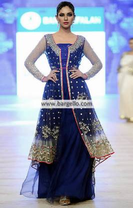 Akif Mahmood Gown Dresses Pakistan Evening Dresses Wedding Dresses PFDC