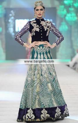 Akif Mahmood Wedding Dresses Stylish Wedding Lehenga Collection PFDC