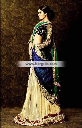 Mehdi Bridal Wear Collection Pakistan Floor Length Lehenga Bridal Collection