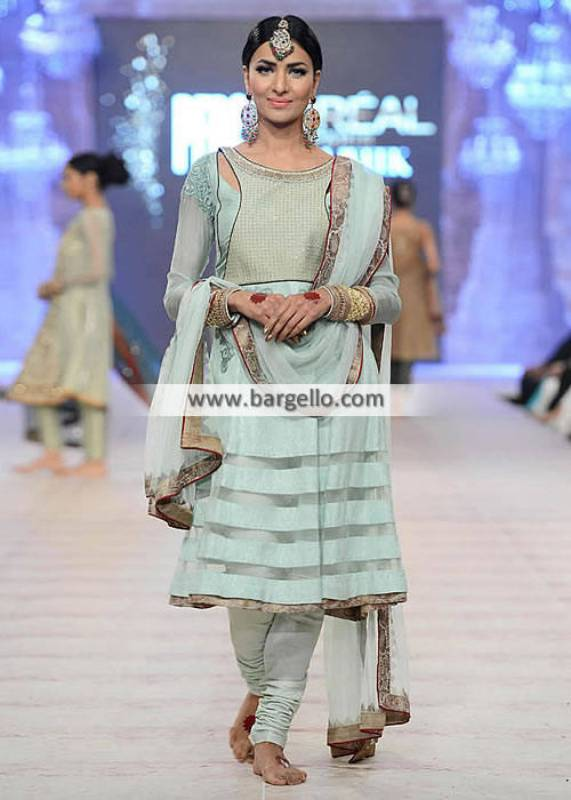 Asifa Nabeel Anarkali Dresses Pakistan Semi Formal Dresses PFDC Collection