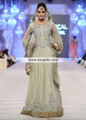 Bridal Lehenga for Walima Bridal Lehenga for Reception or Special Occasions Asifa Nabeel Bridal PFDC