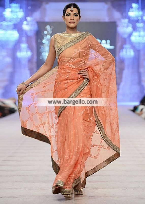Asifa Nabeel Saree Collection Wedding Saree Formal Saree Party Wear Saree