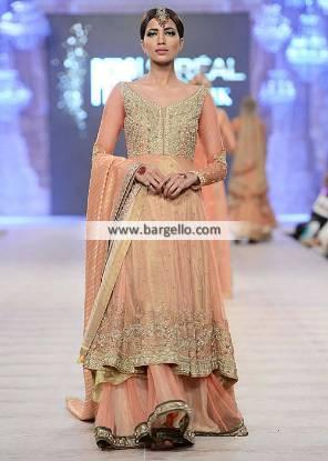 Asifa & Nabeel Anarkali Dresses Anarkali Dress for Walima Reception and Engagement