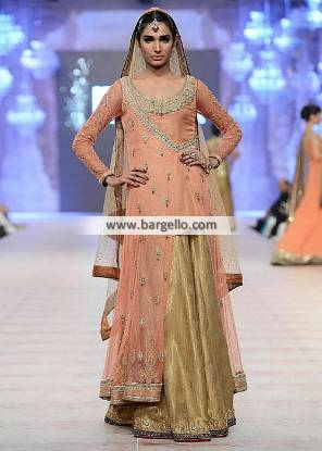Asifa Nabeel Bridal Sharara Collection France Paris Engagement Dresses Formal and Special Occasions