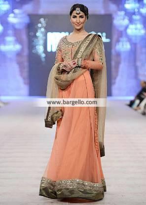 Anarkali Dresses Newcastle London UK Asifa Nabeel Wedding Collection PBCW