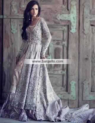 Elan Bridal Dress Luxurious Bridal Dresses with Bridal Gharara and Heavy Embellished Dupatta