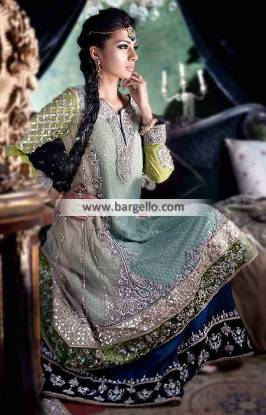 Bridal Anarkali Style Dresses Designer Walima Dresses Reception Dress Pakistan