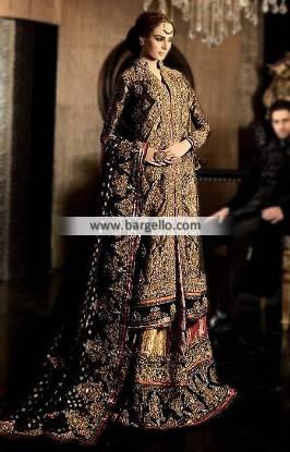 Cara Wedding Dresses Cara Wedding Lehenga Jamawar Lehenga and Banarasi Dupatta