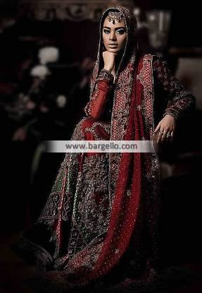 Designer Bridal Lehenga Austin Texas USA Maria B. Bridal Dresses Kundra Collection