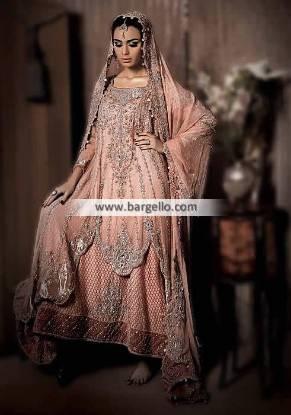Pakistani Wedding Lehenga Houston Texas USA Maria B Wedding Dresses