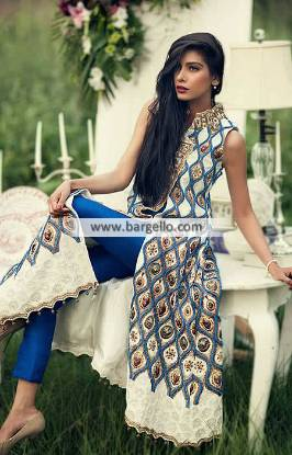 Elegant and Luxurious Angrakha Dresses San Antonio Angrakha Frocks Dresses Pakistan
