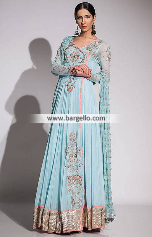 Fahad Hussayn Wedding Dresses Angrakha Dresses for Engagement and Wedding Party Wear