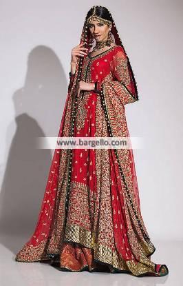 Fahad Hussayn Wedding Dresses Collection Wedding Lehenga UK USA Canada Australia