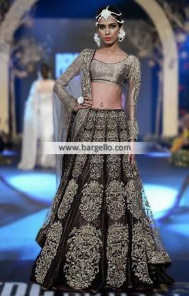 Elan Bridal Lehenga Collection A-Line Bridal Lehenga PFDC Bridal Week Pakistan 2014