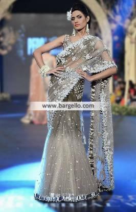Beautiful Bridal Saree Collection Elan Wedding Saree UK USA Canada Australia