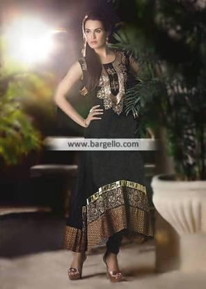Beautiful Pishwas Dresses Collection San Mateo California Wedding Dresses Ahsan Hussain 2014