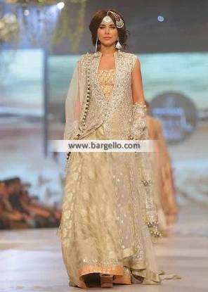 Designer Wedding Dresses Pakistan 2014 Zainab Chottani Bridal Couture Week Collection