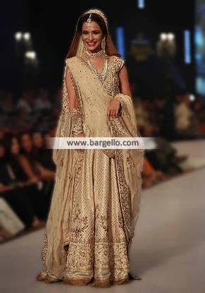 Pakistani Bridal Anarkali Suits Oslo Norway Bridal Dresses Zaheer Abbas PBCW 2014