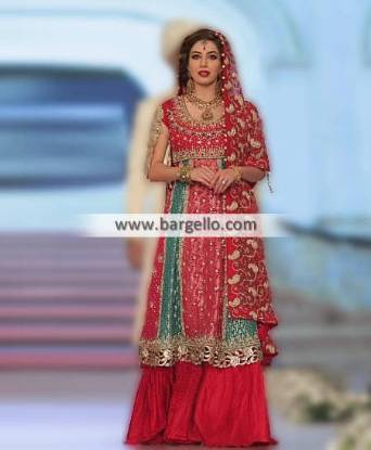 Anarkali Bridal Sharara Wilmington Delaware USA Noman Arfeen Bridal Collection PBCW 2014