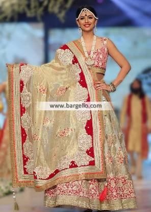 Deepak Perwani Latest Bridal Lehenga Collection Irving Texas USA Deepak Perwani Bridals Collection