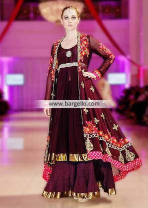 Elan Party Wear Collection London UK Latest Party Wear Dresses at IBFJW London 2013