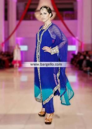 Elan Poncho Style Formal Dresses Collection Pakistan Wedding Functions IBFJW London