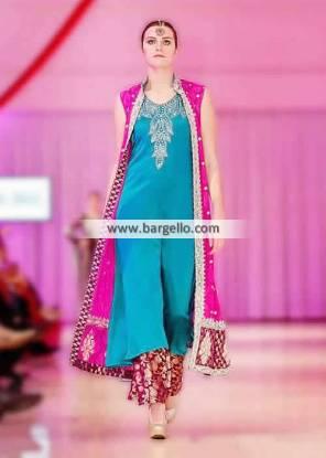 Ankle Length Designer Party Dresses Sana Abbas Paris France Party Wears IBFJW 2013 UK