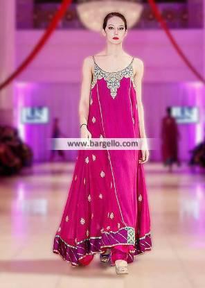Umar Sayeed Anarkali Dresses Pakistani Pishwas Dresses Paris France