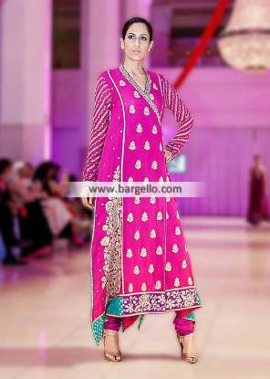 Gorgeous Umar Sayeed Angrakha Dresses Suits Newcastle London UK