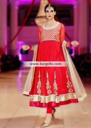 Charisma Designer Anarkali Suits Surrey London UK Evening Party Suits IBFJW 2013