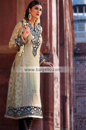 Embellished Chiffon Dresses For Shadi Season 2013 For Women by Threads and Motifs
