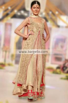 Maria B Formal Occasion Dresses Collection Showcased at Pantene Bridal Couture Week 2013