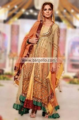 Famous Pakistani Designer Maria B Wedding Dresses Collection at Pantene Bridal Couture Week 2013