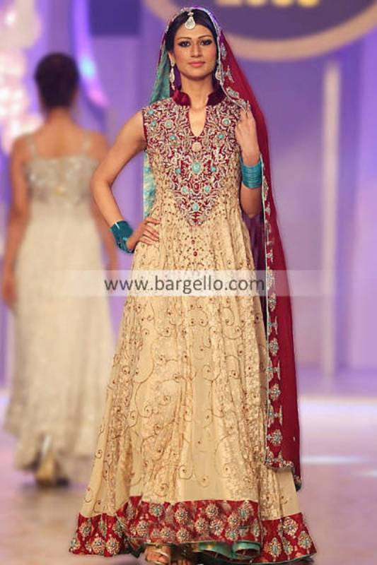 Pakistani Bridal Dresses Collection Staged by Teena Hina Butt at Pantene Bridal Couture Week 2013