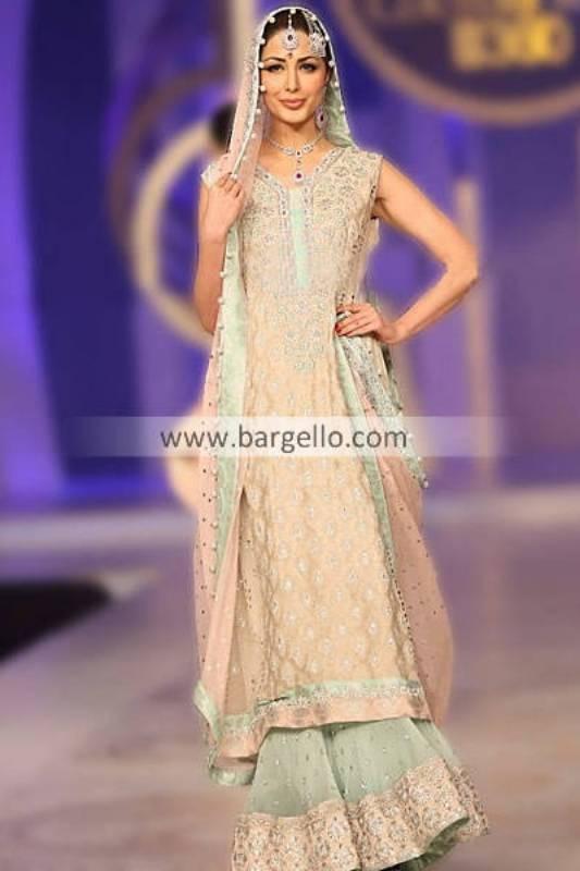Designer Sana Abbas Showcases Her Beautiful Bridal Collection 2013 at Pantene Bridal Couture Week