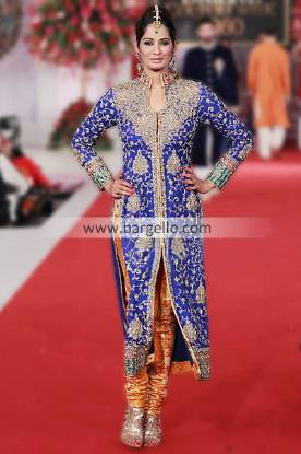Evening Party Outfits From Pakistan by Designer Mehdi at Pantene Bridal Couture Week Chicago IL USA