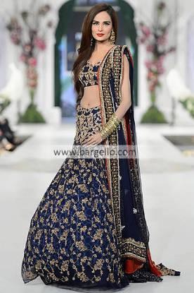 Ammar Shahid Bridal Lehenga Collection at Pantene Bridal Couture Week Butetown Cardiff UK