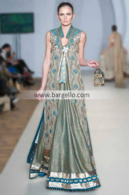 Beautiful Collection of Special Occasion & Party Outfits By Designer Rizwan Ahmed 2013 Houston Texas