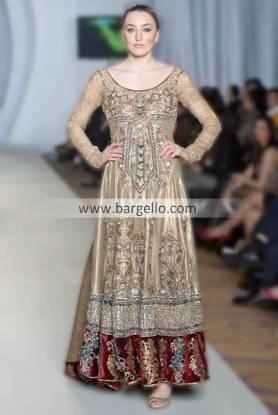 Designer Rizwan Ahmed Party and Evening Wear Anarkali Churidar Suits 2013 Los Angeles California USA