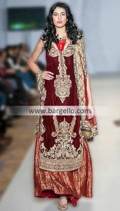 Ayesha Farooq Hashwani's Special Occasions Outfits For Parties at Pakistan Fashion Week London UK