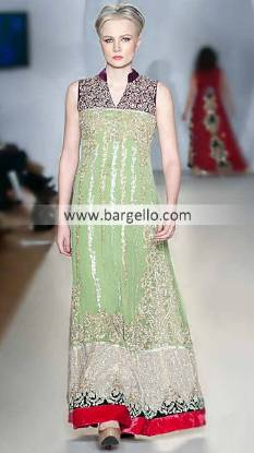 Ayesha Farooq Hashwani's Outfits For Evening Parties at Pakistan Fashion Week London UK