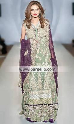 Designer Aamir Baig Gorgeous Bridal Collection at Pakistan Fashion Week London UK