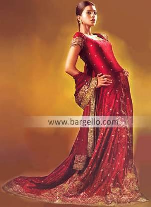 100% hand embellished Pakistani wedding dress Artesia CA geometrical patterns