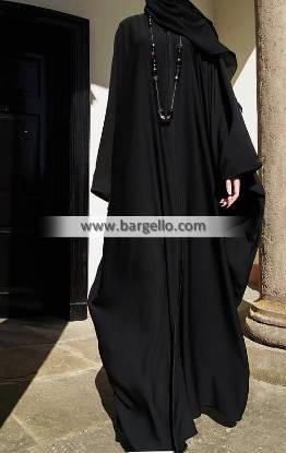 Aswad Butterfly Open Abaya Geneva Switzerland Dazzling Jilbab Outfits